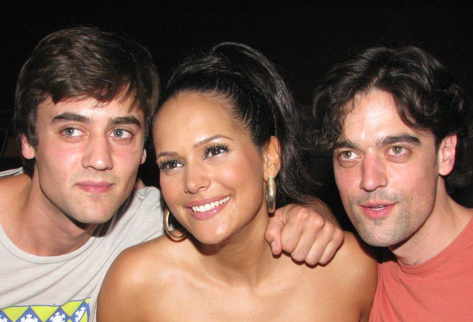 David, Elise en Oscar van der Horst in Panama te Amsterdam